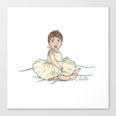 Baby Ballerina Canvas Print