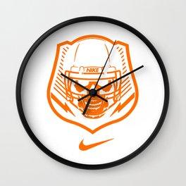 skull nik Wall Clock