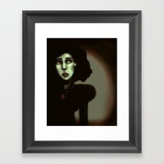Wise in Witchcraft Framed Art Print