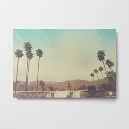 The View Palm Springs Metal Print