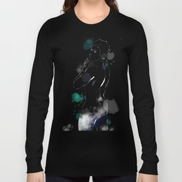 Shower Scene for Dark Shirts Long Sleeve T-shirt