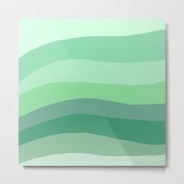 Green Aesthetic  Metal Print