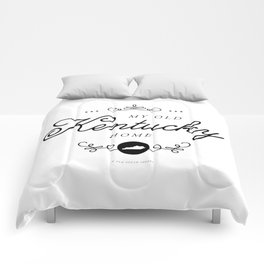 My Old Kentucky Home (Southern Home State Series) Comforters