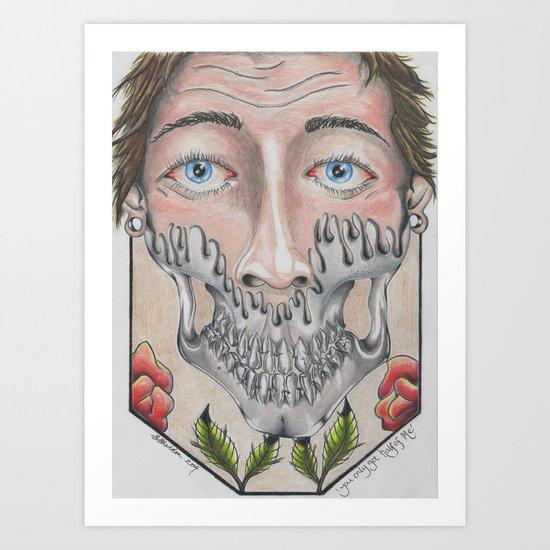 Half of Me Art Print