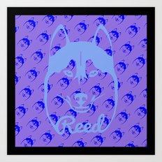HU$KY Art Print
