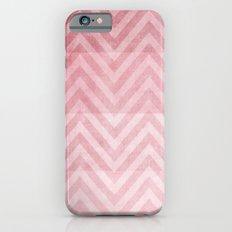 pink chevron II iPhone 6 Slim Case