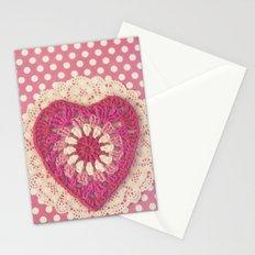 Crochet Valentine Stationery Cards