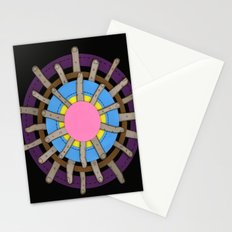 radial blame II Stationery Cards