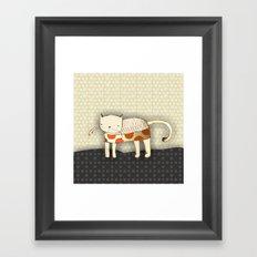 Venus the Cat Framed Art Print