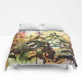 Golden Cedar Comforters