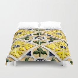 Portuguese azulejos Duvet Cover