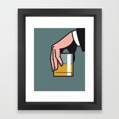 Pop Icon - Madmen 2 Framed Art Print