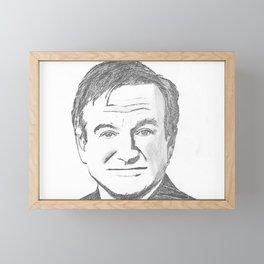 Robin Williams Framed Mini Art Print