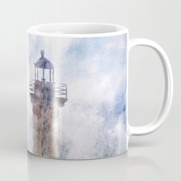 Storm in the lighthouse Coffee Mug