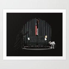 The Dark Side of Magic Art Print