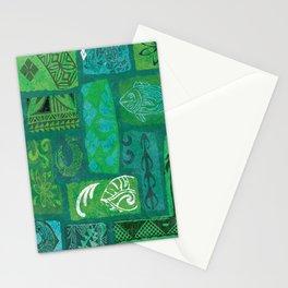 Vintage Hawaian Tapa Print Stationery Cards
