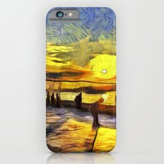 Sunset Fishing Istanbul Van Gogh iPhone 6s Slim Case