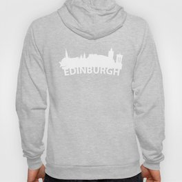 Curved Skyline Of Edinburgh Scotland Hoody