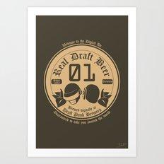 Draft Punk Art Print