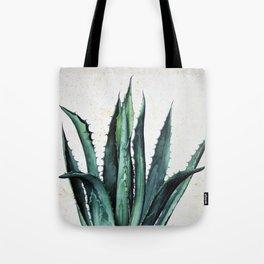 Vintage succulent agave aloe cactus antique desert botanical print boho tribal chic Tote Bag