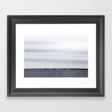 Northern mood Framed Art Print
