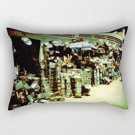marketplace in Tunisia Rectangular Pillow