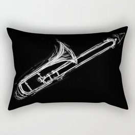 Trombone Rectangular Pillow