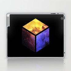 Nebula Cube - Black Laptop & iPad Skin
