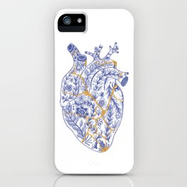 Kintsugi broken heart iPhone Case