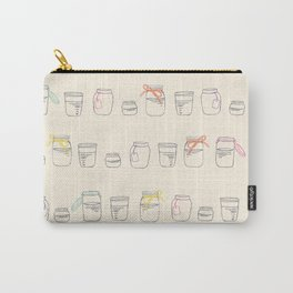 Mason Jars Carry-All Pouch