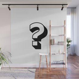 Question Mark ? Wall Mural