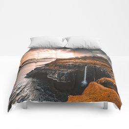 gasadalur at faroe Comforters