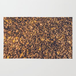 carpet of leaves Rug
