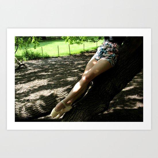 Grounded Art Print