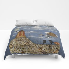 Ship in the Sky Comforters