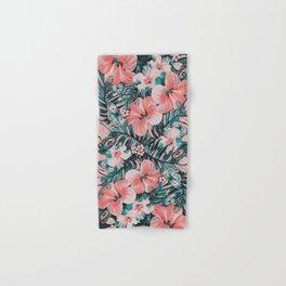 Vintage Jade Coral Aloha Hand & Bath Towel