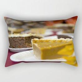 Thanksgiving Pumpkin Pie Dessert Rectangular Pillow