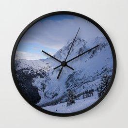 Mt Baker Wilderness Wall Clock