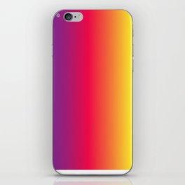 rainbow abstract iPhone Skin