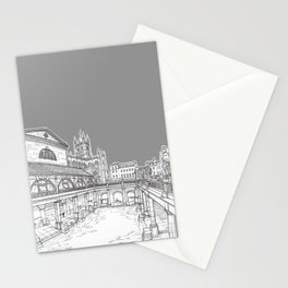 City Of Bath (Grey Version) Stationery Cards