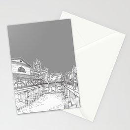 City Of Bath (Grey Version) Stationery Cards