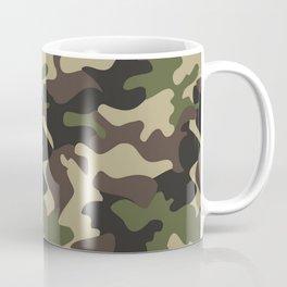 Military camouflage Coffee Mug