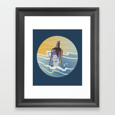 Ghost Ship 2 Framed Art Print