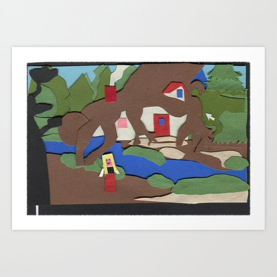 King's Quest IV: The Perils of Rosella Art Print