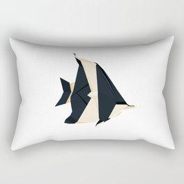 Origami Moorish Idol Rectangular Pillow