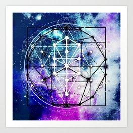 Sacred Geometry: Intertwined Art Print