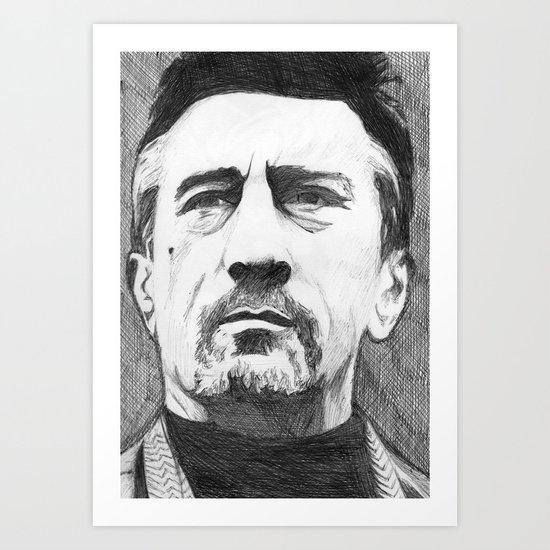 De Niro Art Print