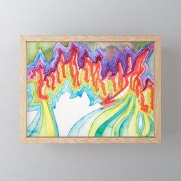 Say Something Framed Mini Art Print
