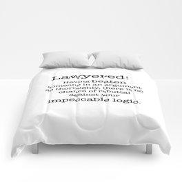 Lawyered Comforters