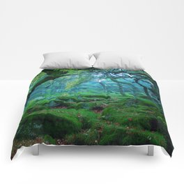 Forest #woods Comforters